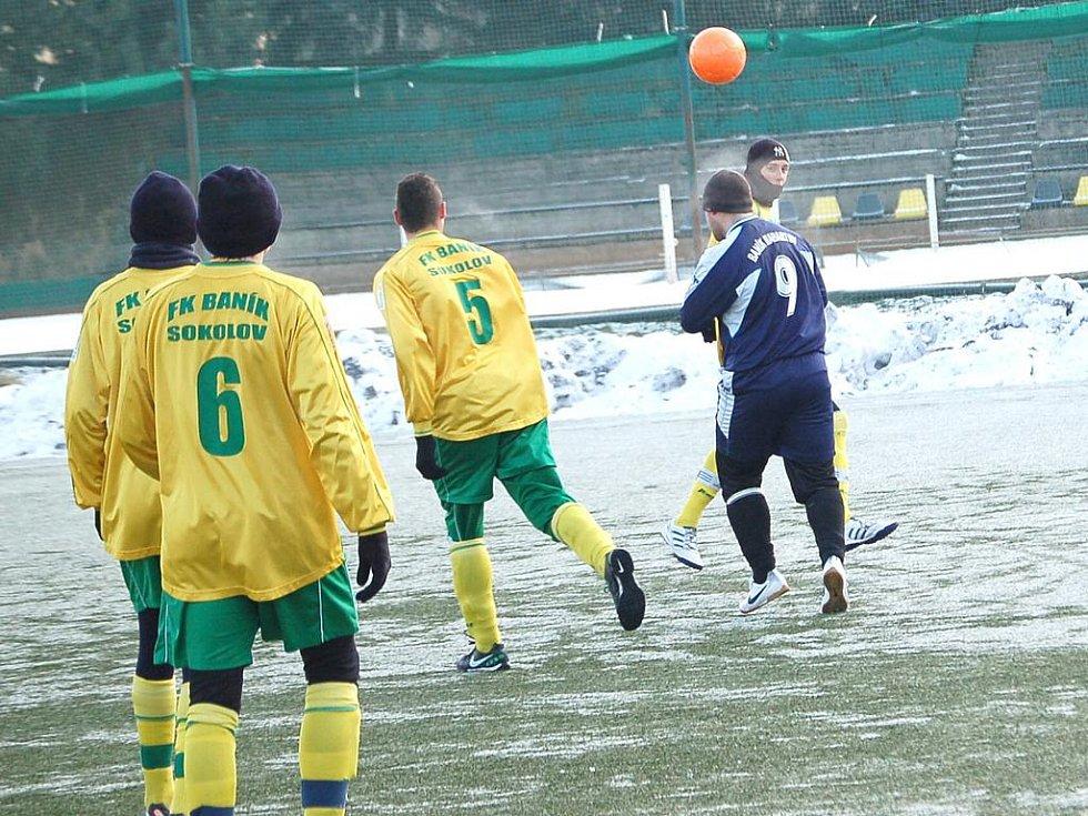 Zimní turnaj SSZ Sokolov: Baník Habartov - Baník Sokolov dorost