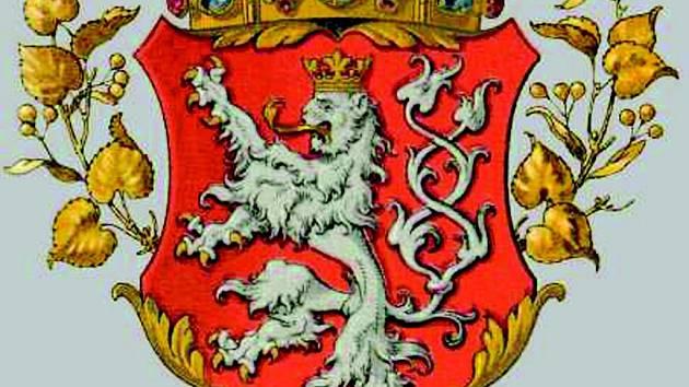 Erb Českého království.