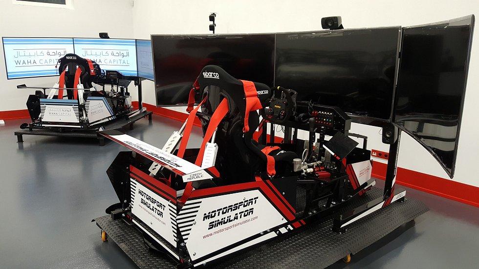 Simulátory kraslické firmy Motorsport Simulator