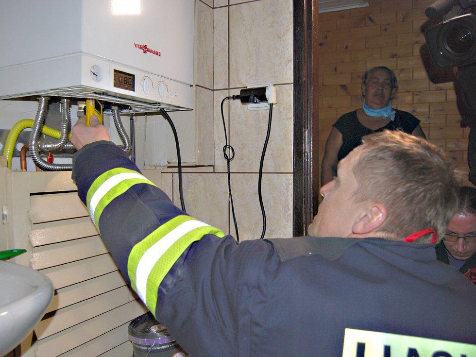 Preventivní akce hasičů a městské policie v Sokolově