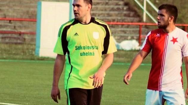 Martin Vachník ze Spartaku Chodov