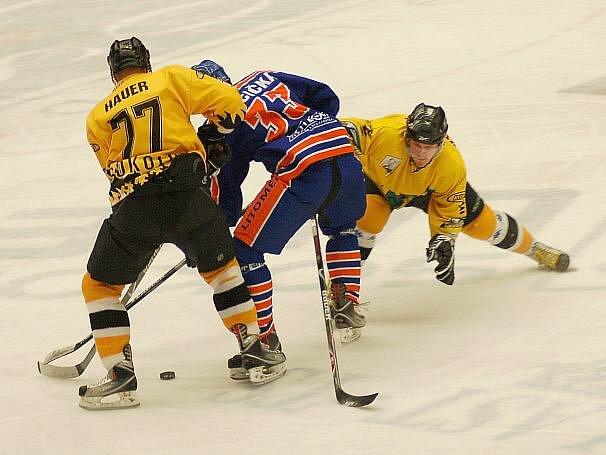 II. hokejová liga: Baník Sokolov - Stadion Litoměřice