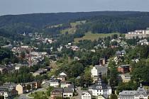 Pohled na Zwotu z Klingenthalu