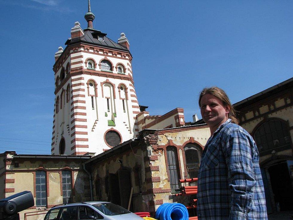 Oprava památky v Kraslicích - bývalá jatka.