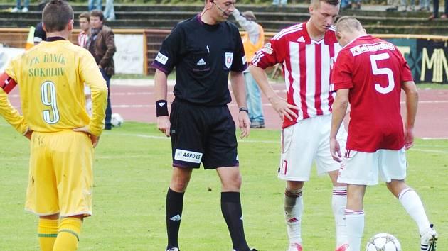 Fotbal: Baník Sokolov vs. Viktoria Žižkov