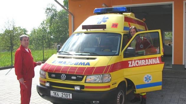 OD ČTVRTKA může záchranná služba ze Slavkova opět za pacienty vyrážet i v noci.