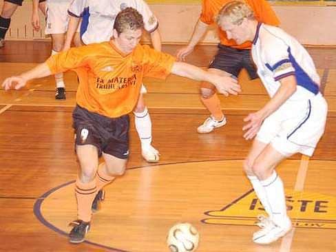 Futsalisté Materie v loňské sezoně.