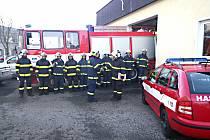 Jednotka dobrovolných hasičů z Kraslic.