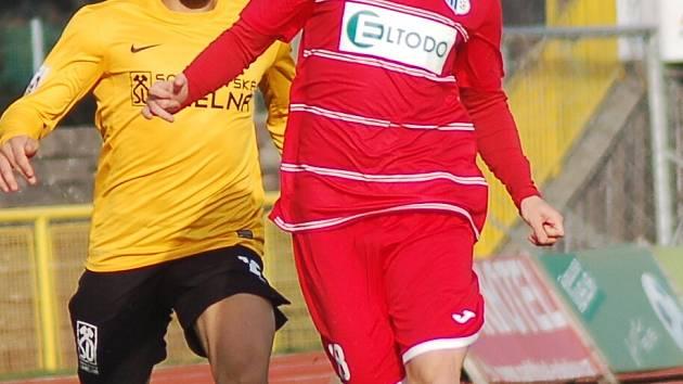 FNL: FK Baník Sokolov - FK Ústí nad Labem