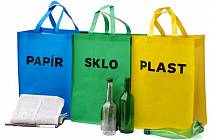 Sada tašek, které podpoří třídění