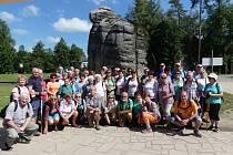 Senioři ze Slaměnky si zájezd na Náchodsko pochvalovali.