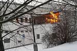Požár v Uralu