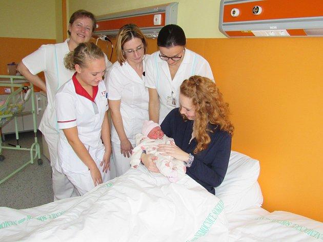 O novou porodnici je enormní zájem.