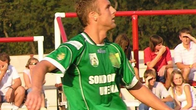 Útočník Petr Šorfa.