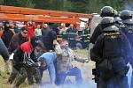 Den s integrovaným záchranným systémem v Habartově.