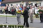 Pietní akt a slavnostní otevření muzea v Habartově.