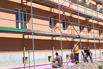 Komunitní dům seniorů je před dokončením.