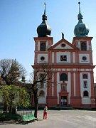 CHLUM SVATÉ MAŘÍ. Neodmyslitelnou dominantou obce je kostel Nanebevzetí Panny Marie.