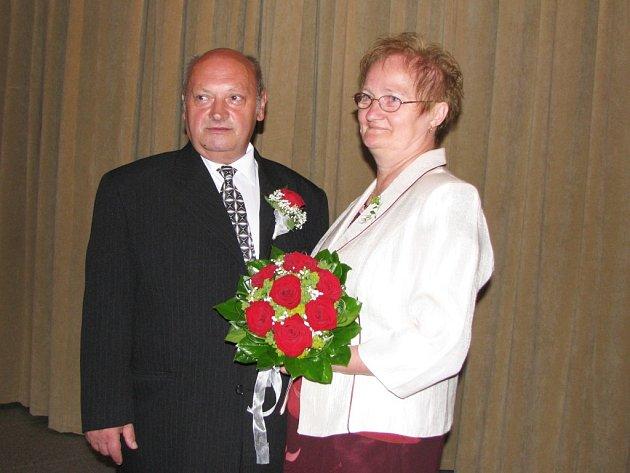 Svatba 8. 8. 2008 v Sokolově.