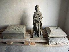 Socha Ecce homo, desítky let považovaná za ztracenou, se dočkala zrestaurování a v létě bude vysvěcena a usazena, ovšem jinde, než původně stála.