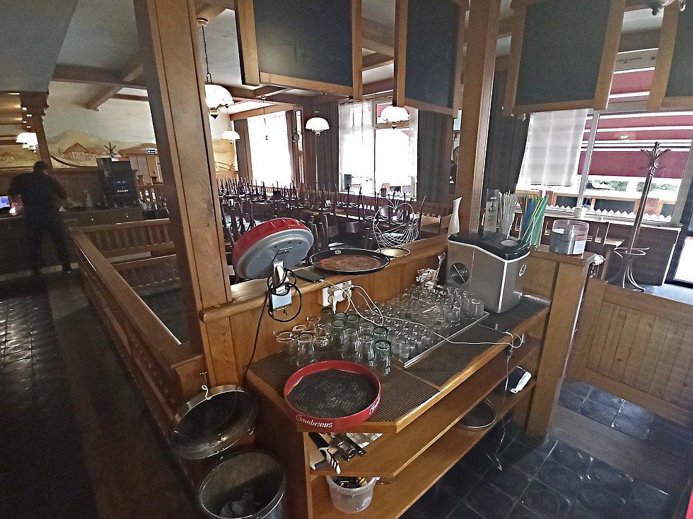 Přípravy na otevření v kraslické restauraci Severka