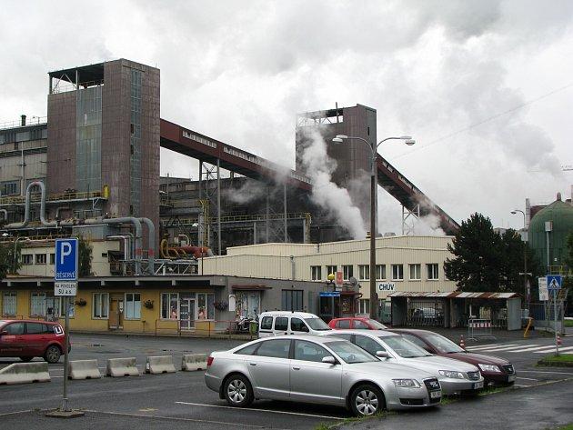 Palivový kombinát ve Vřesové.
