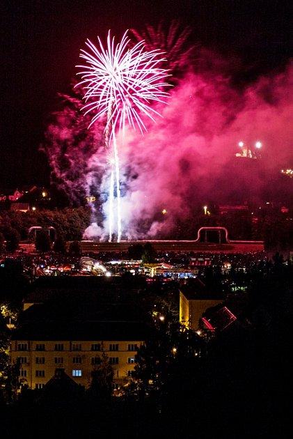 Hurá prázdniny 2014 - Pyrock Kraslice.