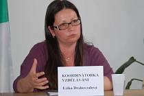 Program vzdělávání v regionu má na starosti Erika Drahovzalová