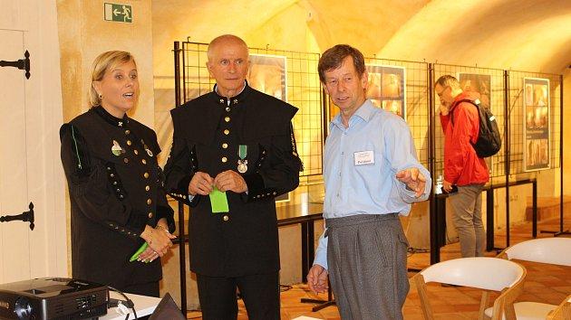 Expozice ve sklepení byla slavnostně otevřena v rámci zahájení Dnů evropského dědictví