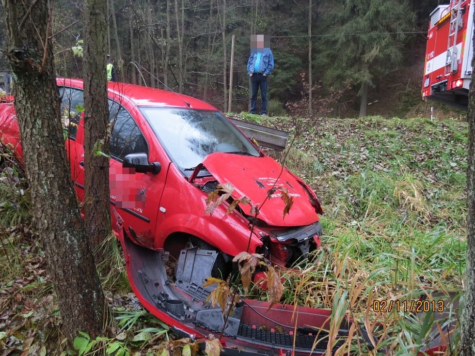 Nehoda u Kraslic.