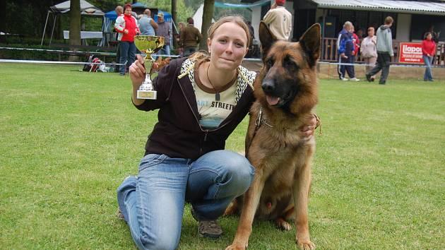 Vítězkou jedné z kategorií se stala Šárka Vaňková z Ostrova.
