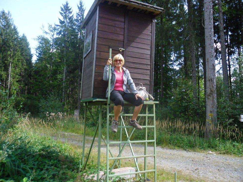 Slaměnka vyrazila za poznáním Českého lesa.
