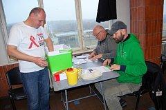 Pracovníci České společnosti AIDS se sešli s odsouzenými v kynšperské věznici.