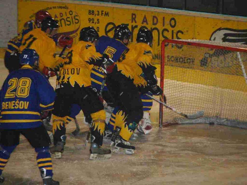 Juniorská liga Baník Sokolov - HC Benešov