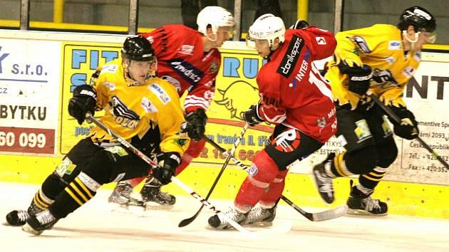 II. hokejová liga: Baník Sokolov - Klatovy