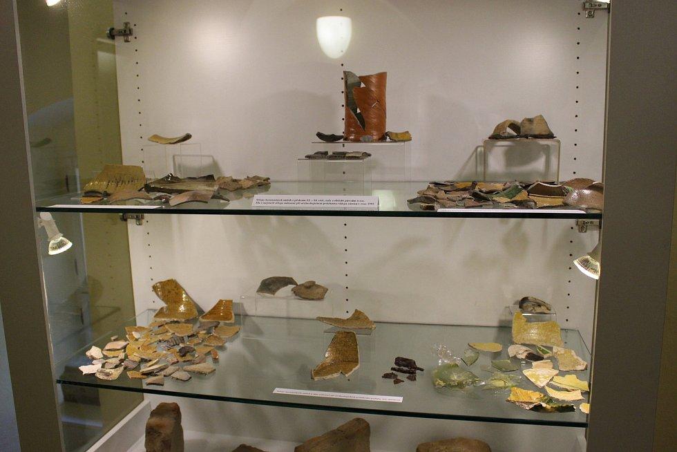 Výstava v přízemí sokolovského zámku potrvá do listopadu.