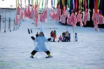 Karneval na lyžích v Kraslicích.