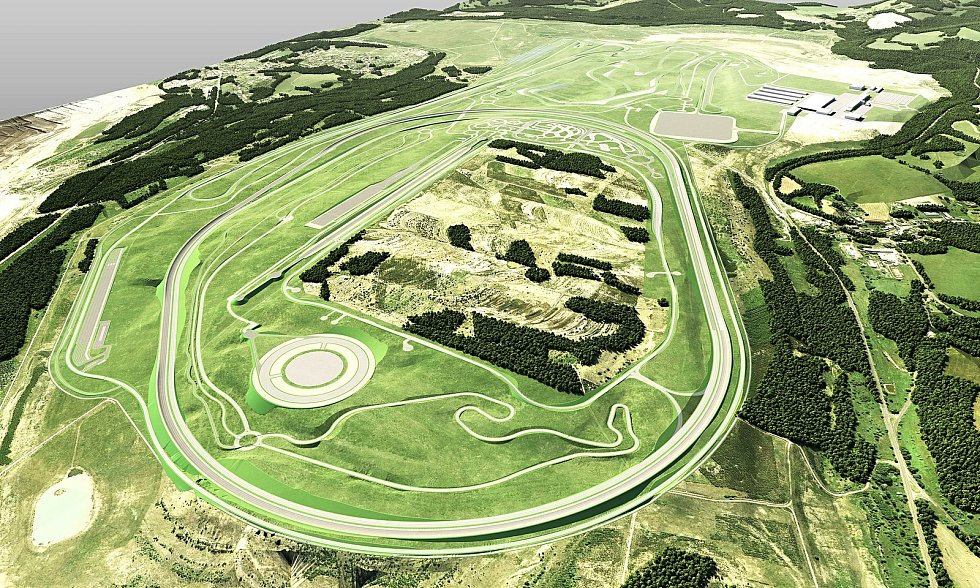 Projekt výstavby BMW Group vývojového centra u Sokolova  pokračuje.
