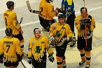 Utkání II. hokejové ligy HC Baník Sokolov - HC Roudnice 7:2