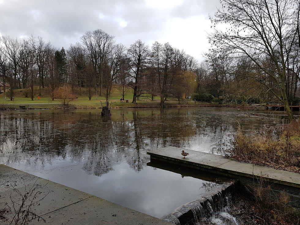 Městský park - Husovy sady