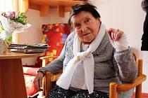 Pětadevadesátiletá Jiřina Břízová dnes žije ve Vile Maria v Dolním Rychnově. Protože se narodila v době první republiky, pamatuje všechny československé i české prezidenty.