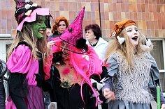 Pálení čarodějnic je v Chodově velmi oblíbenou akcí. Snímek je z loňského roku.