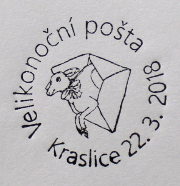 Velikonoční pošta Kraslice.