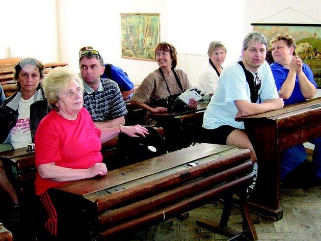 Výlet sokolovských turistů.