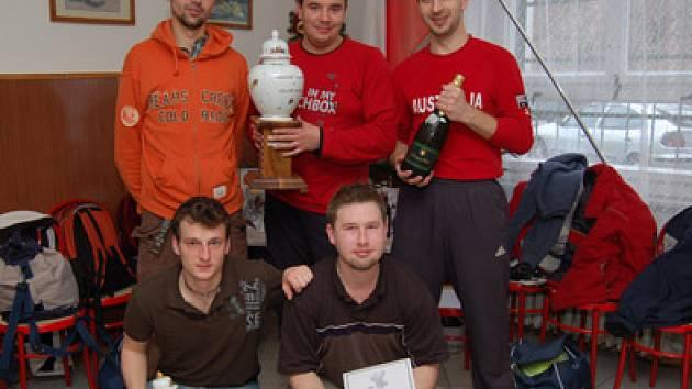 Vítězné družstvo letošního ročníku Bernard Cupu.
