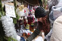 V Lokti se konají tradiční vánoční trhy.