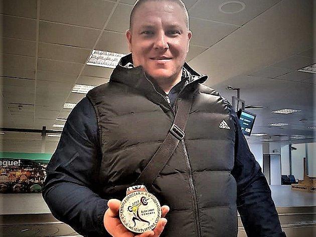 Sokolovský vzpěrač vybojoval bronz na mistrovství Evropy