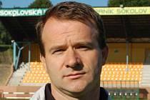 Trenér juniorky Milan Matejka.