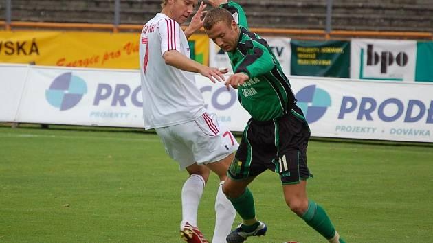 Petr Šorfa v akci.