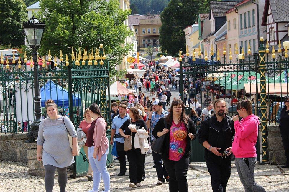 Bečovské slavnosti se konaly ve městě již pošestnácté.